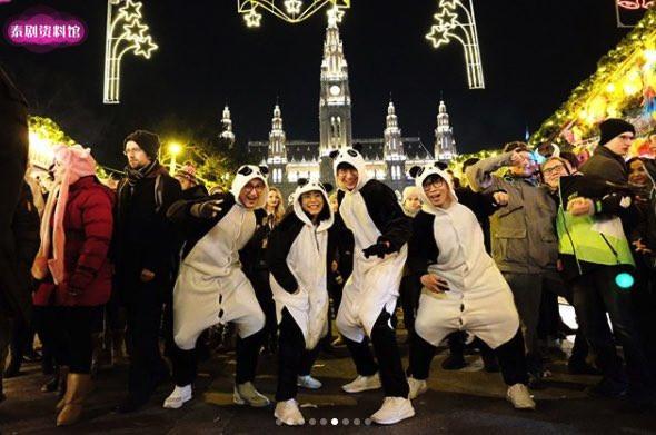 【泰娱新闻】新年假期在国外旅游的泰国明星