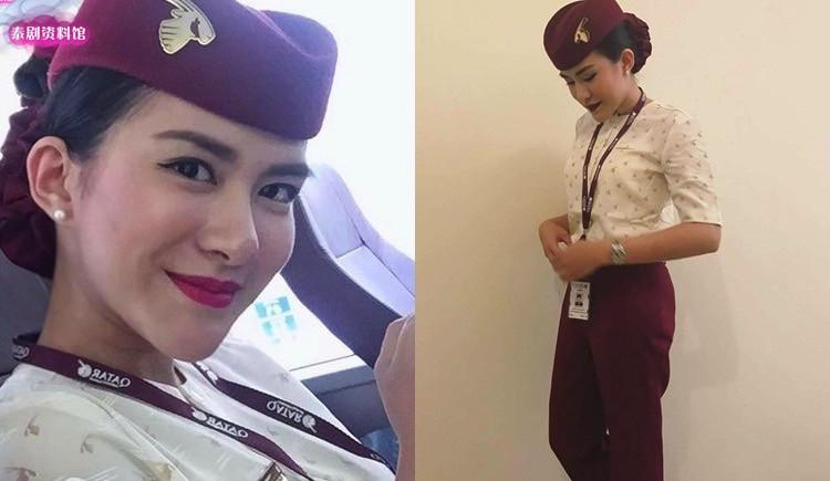 【泰娱新闻】5位转行做空姐的泰国女星