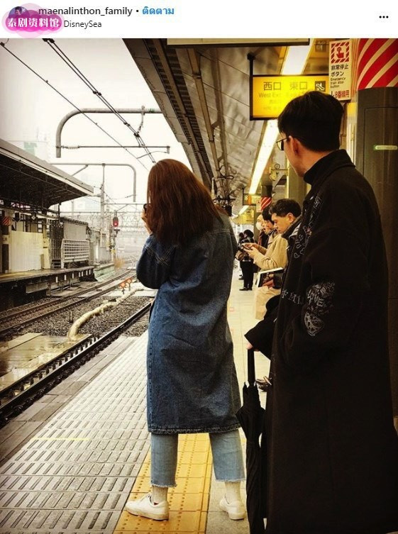 【泰娱新闻】Tono Pakin和Nicha Nuttanicha携家人同游日本