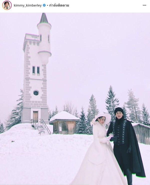 【泰娱新闻】Tik Jesdapohn 和 Kim Kimberley 在国外为新剧《命定之爱》取景