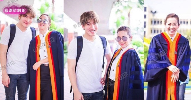 【泰娱新闻】4位在公开场合对女星表达好感的泰国男星