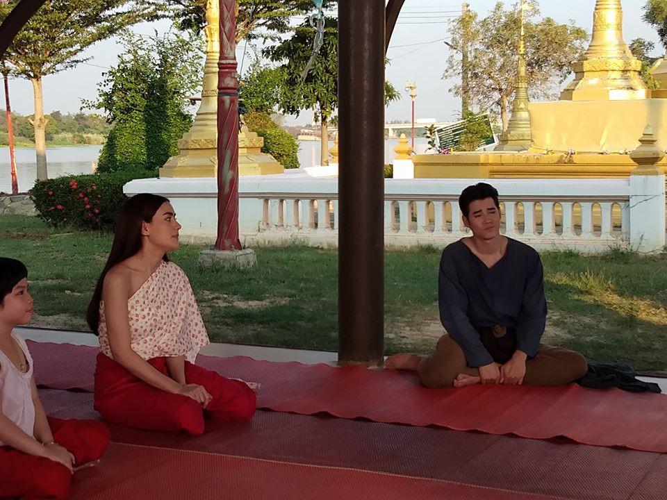【泰娱新闻】Mario Maurer 和 Kim Kimberley 新剧《查龙药师》开始拍摄