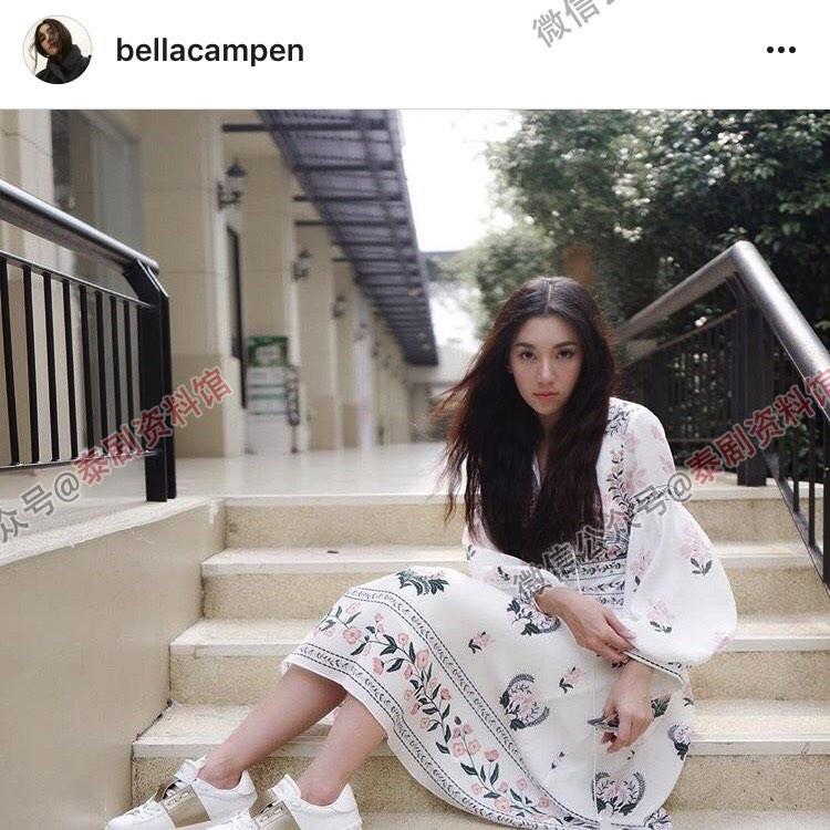 【泰娱新闻】Bella Ranee 当选泰国人在宋干节最想泼水的女演员
