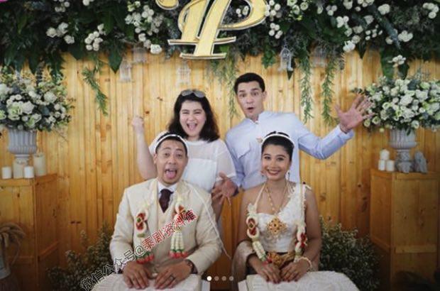 【泰娱新闻】Kim Kimberley 的哥哥在海边举行浪漫婚礼