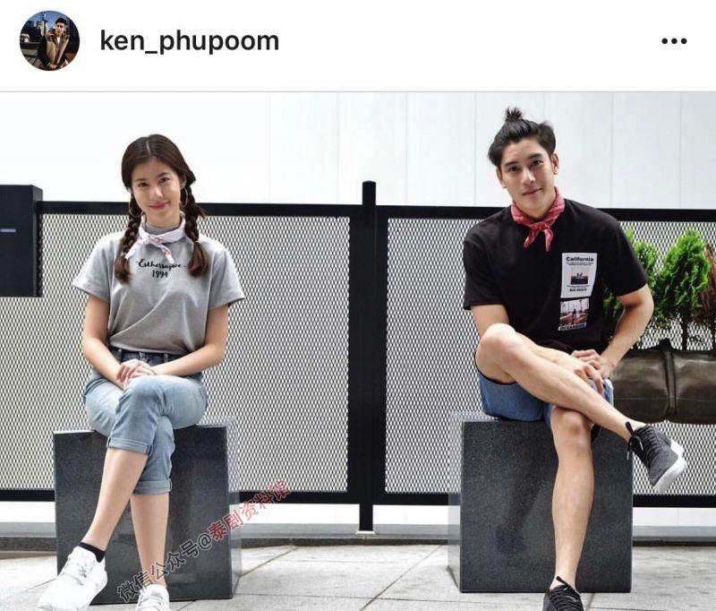 【泰娱新闻】泰国明星情侣们的情侣装