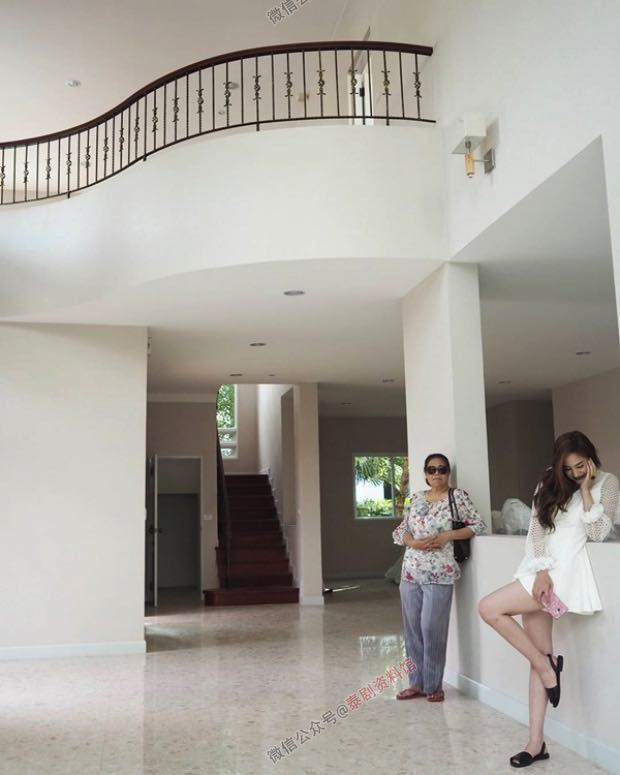 【泰国娱乐】Kwan Usamanee 买了价值五千万泰铢的豪宅给妈妈