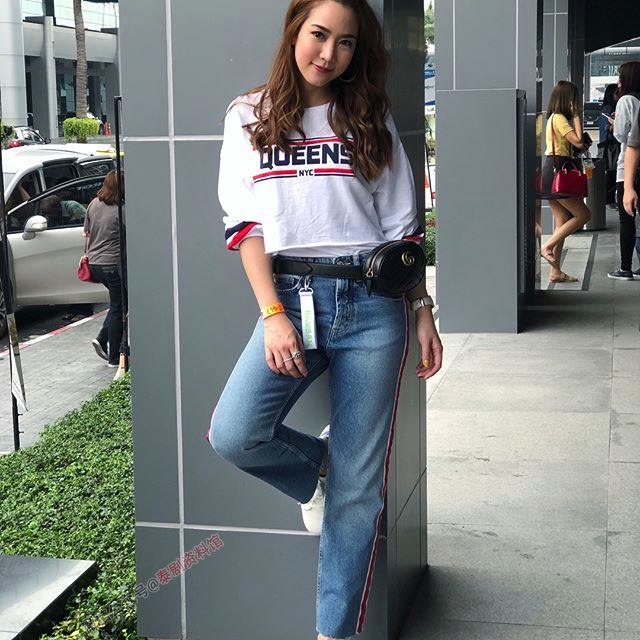 【泰国娱乐】泰国女星 Jakjaan Akumsiri 是韩国组合 GOT7 的小迷妹