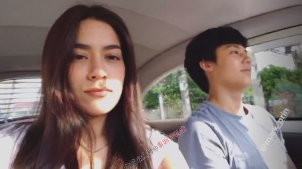 【泰国娱乐】Mark Prin 和 Kim Kimberley 清迈游玩再撒狗粮