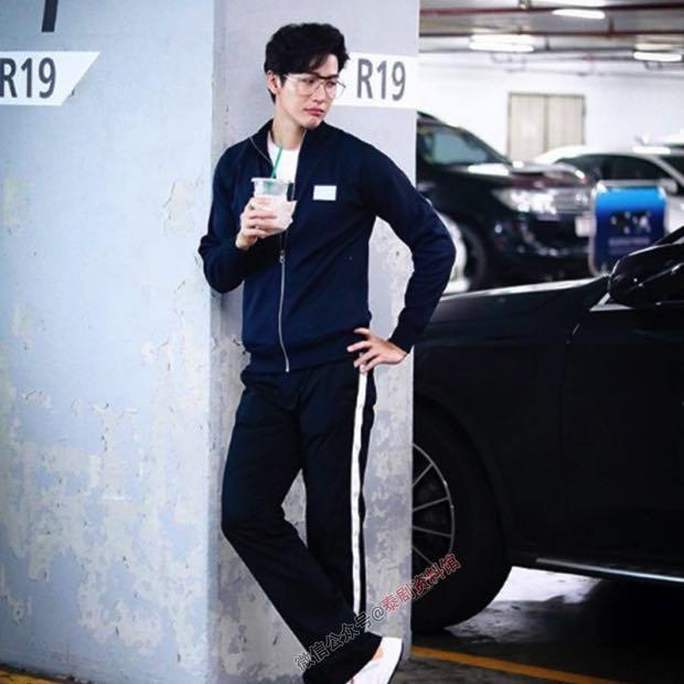 【泰国娱乐】推哥 Push Puttichai 被商场保安当成司机