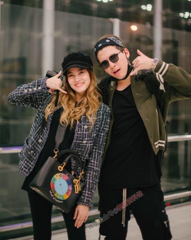 【泰国娱乐】甜蜜的婚后生活,Margie 和 Pok 前往瑞士避暑
