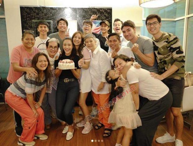 【泰国娱乐】Pope Thanawat 等3台明星现身 Pooklook Fonthip 生日派对