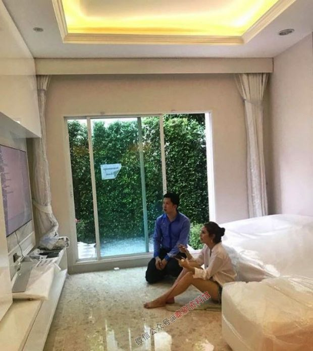 【泰国娱乐】Kwan Usamanee 公布新房子装修进度