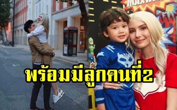 【泰国娱乐】Sarah Casinghini 准备给 Maxwell 添弟弟妹妹了
