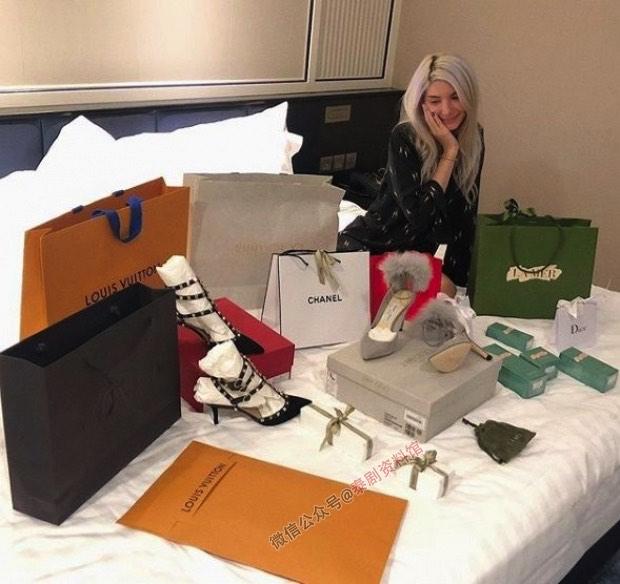 【泰国娱乐】Sarah Casinghini 新男友出手大方,送奢侈品铺满床