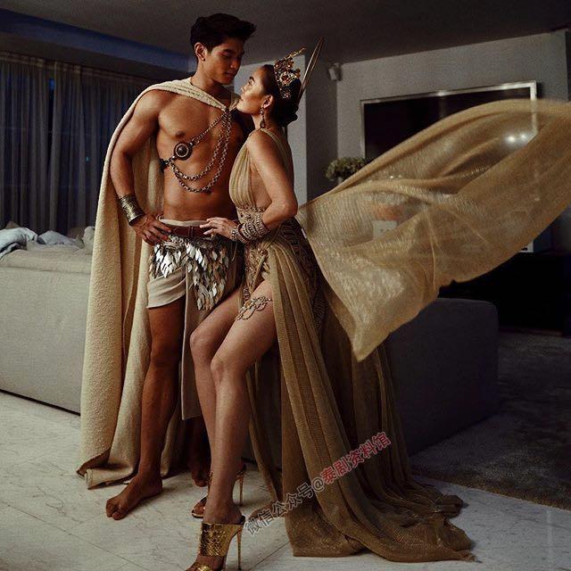 【泰国娱乐】Janie Tienphosuwan 和未婚夫 Mickey 一同拍摄唯美杂志写真