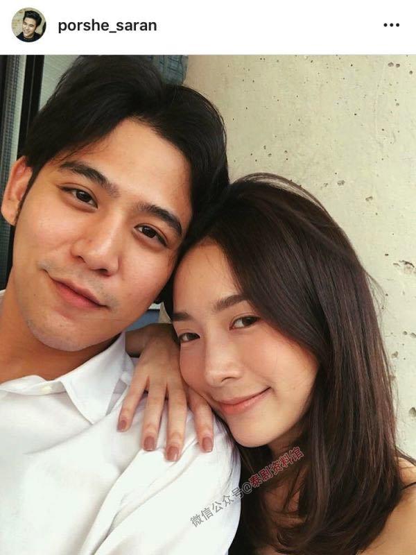 【泰国娱乐】Porshe Saran 澄清与女友分手的传闻
