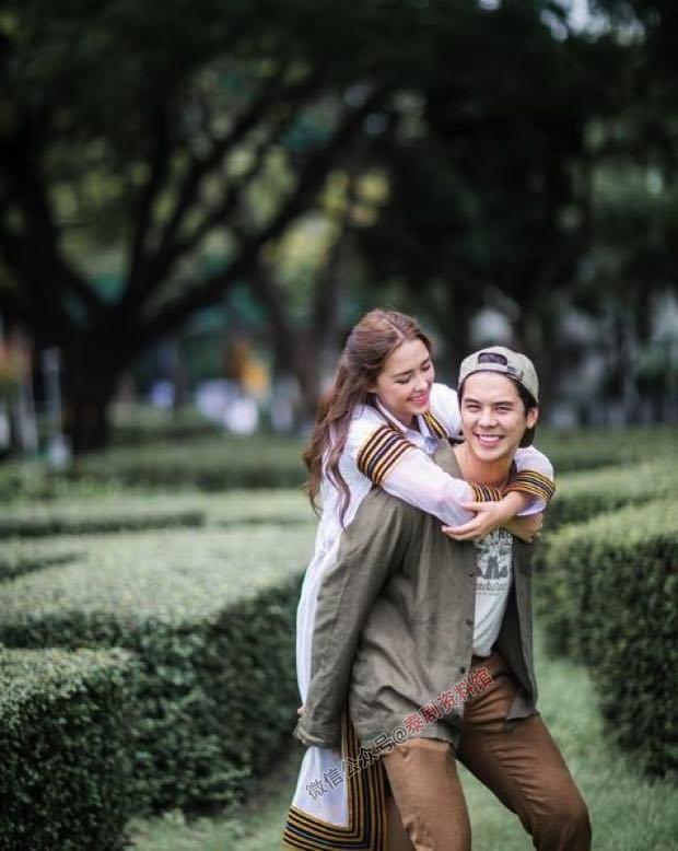 【泰国娱乐】Peach Pachara 谈与 Patricia Good 的留学计划