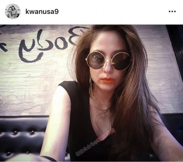【泰国娱乐】Kwan Usamanee 公布新恋情