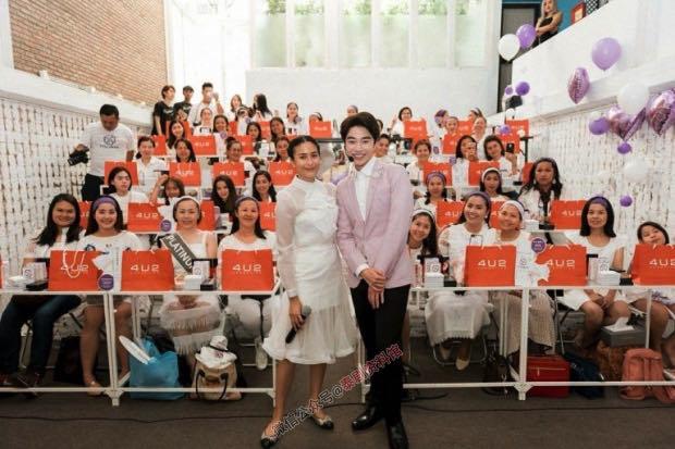 【泰国娱乐】Push Puttichai 女友 Jui Warattaya 曾做生意负债千万