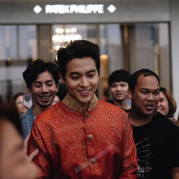【泰国娱乐】James Jirayu 确定交谈对象上升为女友,已见过家长