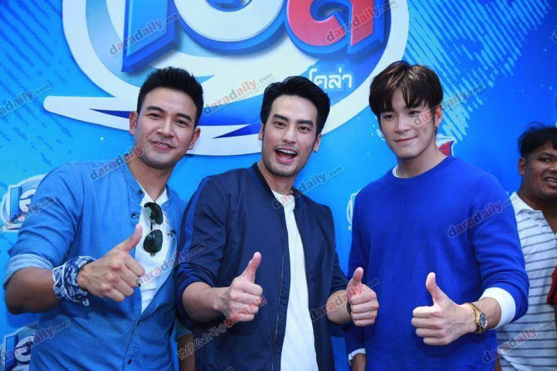 【泰国娱乐】Boy、Great、Alek 接受采访谈论 James Jirayu 的女友