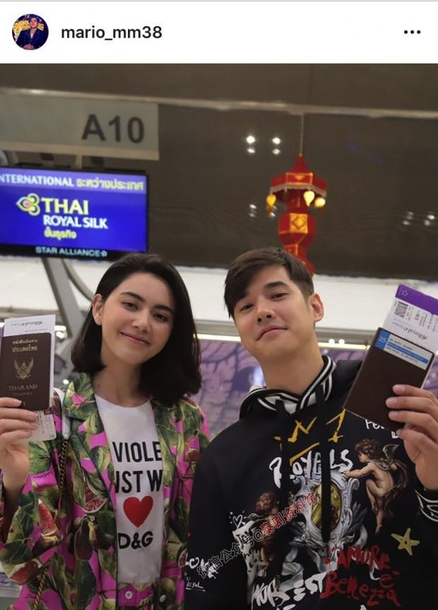 【泰国娱乐】D&G时装秀取消,Mario Maurer 和 Mai Davika 懵圈