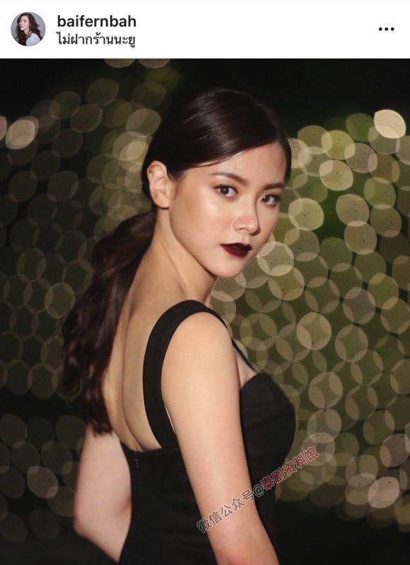 【泰国娱乐】Baifern Pimchanok 吕爱惠 宣布与男友 Top Jaron 分手