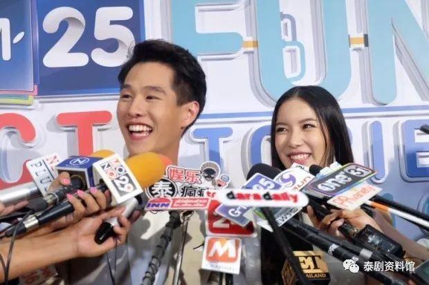 【泰国娱乐】Toy Pathompong 与 Mook Worranit 公开恋情