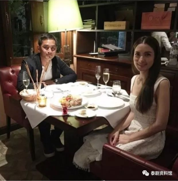 【泰国娱乐】宋干带 Matt Peranee 去的餐厅与曾经带 Aff 去的是同一家?