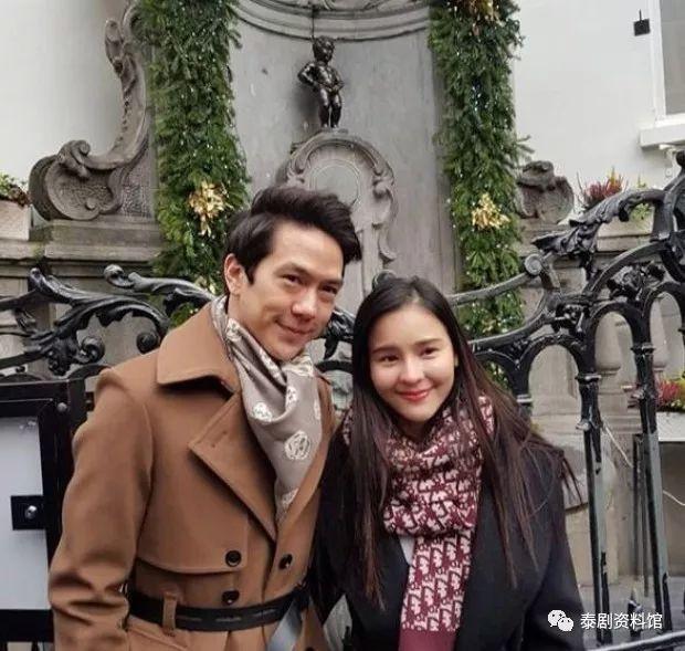 【泰国娱乐】Aom Sushar 与男友 Amp Pithan 甜蜜庆祝生日