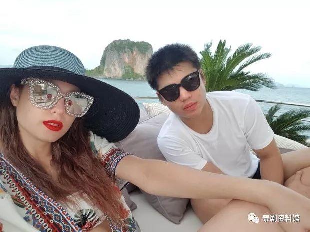 【泰国娱乐】Kwan Usamanee 带男友 Hiso Patrick 给妈妈庆生