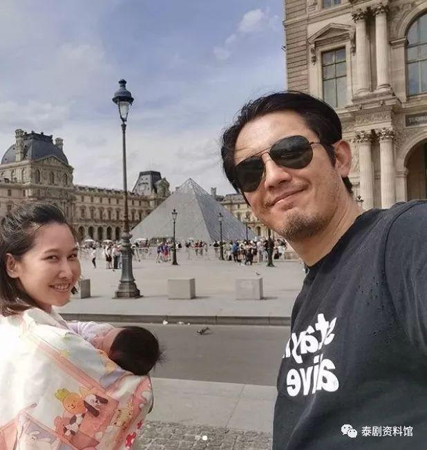 """【泰国娱乐】Num Sornram 否认自己是带妻女""""逃到""""法国"""