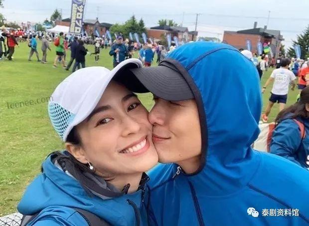 【泰国娱乐】Push Puttichai 第一次跑100公里马拉松,Jui 献吻鼓励